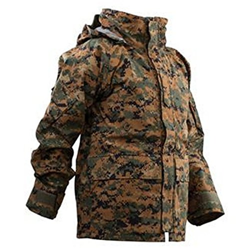 Tru-Spec Parka, Woodland Print Digital H2O Proof Gen 2, Large Long