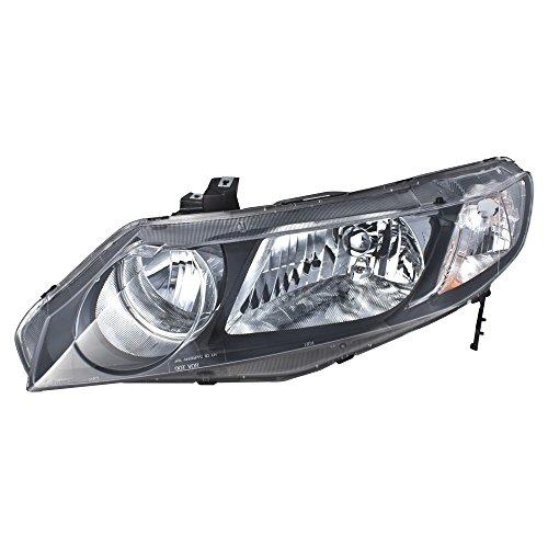 Honda Civic Lh Headlamp - 6