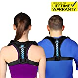 Perfect Adjustable Posture Corrector for Men and Women - Upper Back Brace