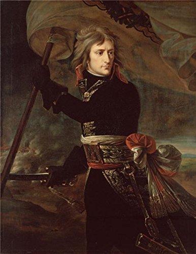 Oil Painting 'Napoleon Bonaparte On The Bridge At Arcole,1797 By Baron Antoine-