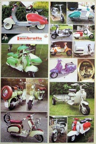 Lambretta Motor patinete -17 Classic modelos, para moto ...