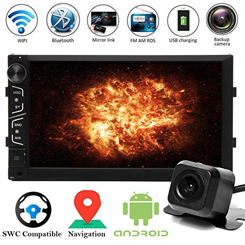 "7"" Touchscreen Double 2 Din Car Navigation Stereo Radio for sale  Delivered anywhere in USA"