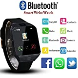 Best Cheap Smart Watches - Smartwatch Cell Phone Bluetooth Watch for iPhone Android Review