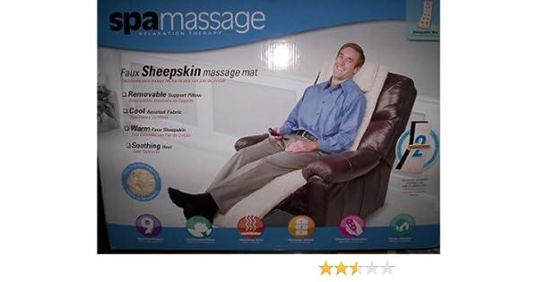 Amazon.com: Spamassage Relaxation Therapy/Sheepskin Massage ...