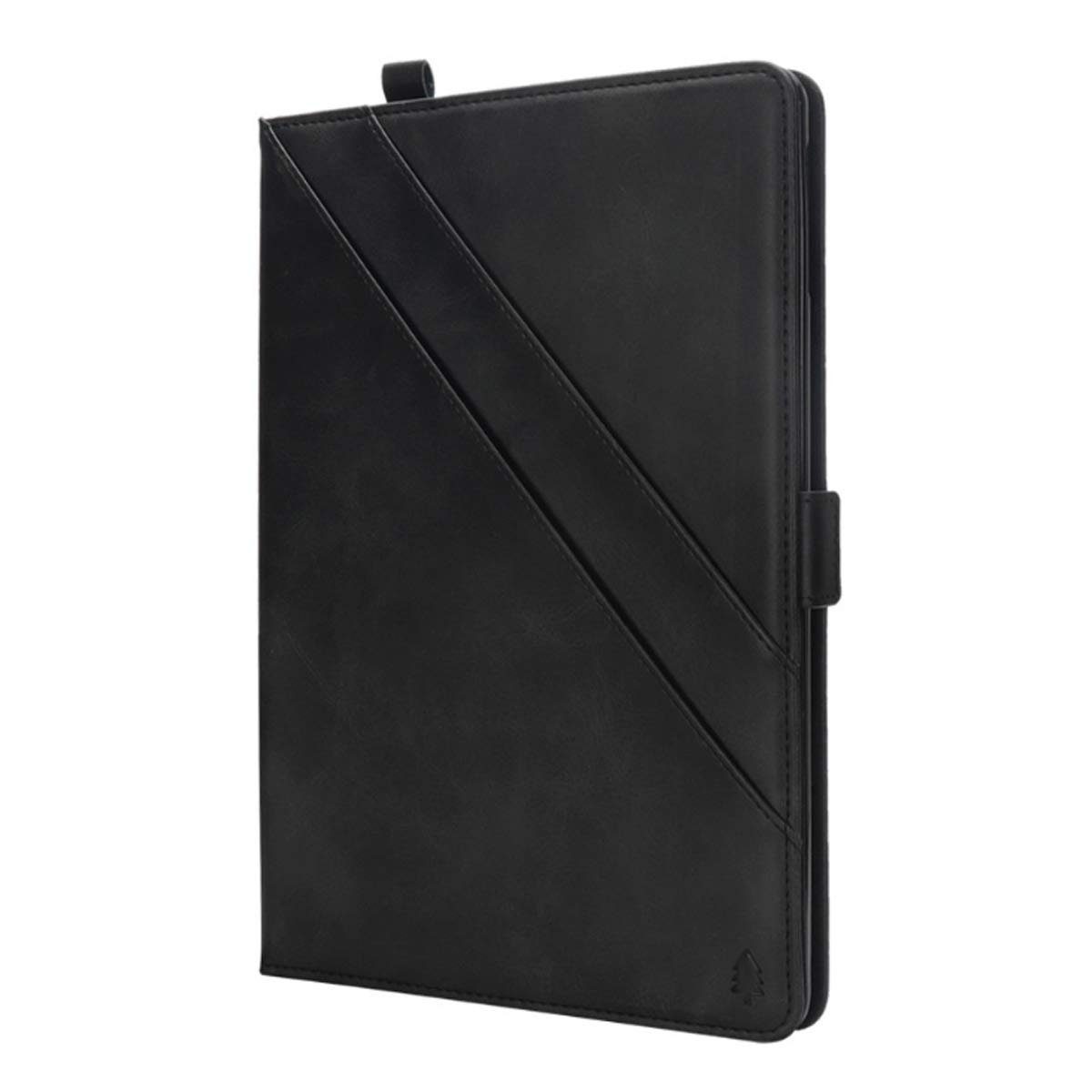 KATEGY iPad Pro 11 Inch Case with Pencil Holder, Premium PU Leather Folio Case with Apple Pencil Strap Holder and Card Slots Magnetic Smart Case Cover for iPad Pro 11 inch 2018 Release - Black by KATEGY (Image #2)