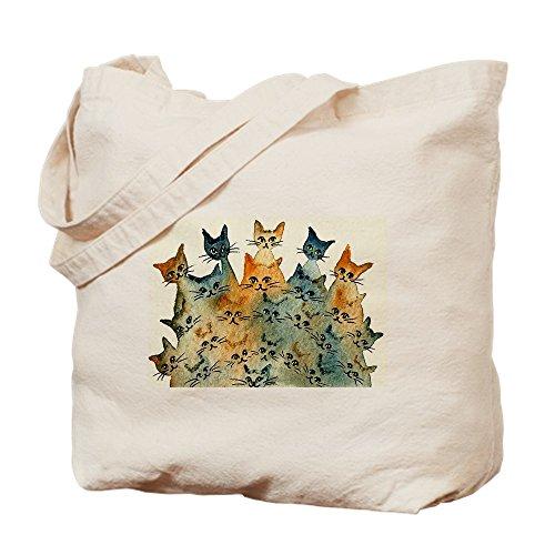 CafePress - Charlottesville Stray Cats Bag - Natural Canvas Tote Bag, Cloth Shopping - Shopping Charlottesville
