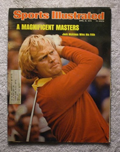 Jack Nicklaus Wins his Fifth Masters - Golf - Sports Illustrated - April 21, 1975 - SI by Sports Illustrated