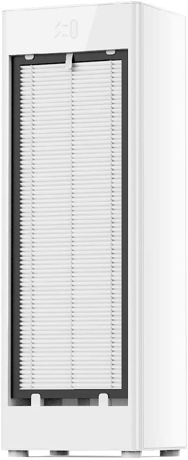 HANVON Home Air Purifier True HEPA Filter for Large Rooms,Bedrooms,Living Rooms,Kitchens,Office,323 Sq ft Coverage, Smart Air Quality Sensor Cleaner for Dust,Pollen,Pet Hair,Smoke,Odors - White