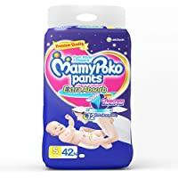 MamyPoko Small Size Baby Diapers (42 Count)