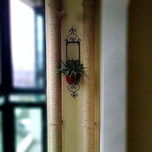 KINGLAKE 8/mm di Spessore Garden Iuta Corda Stringa 4-ply 10/m Forte Corda di Canapa Art Craft spago da Giardinaggio per Il confezionamento di Regali Bundling