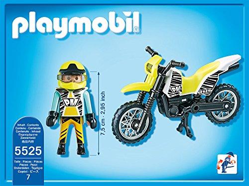 Playmobil sports action moto de motocross - Moto cross playmobil ...