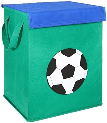 30x 30x 30cm LOMOS caja para juguetes con diferentes motivos de animales y mucho espacio para almacenar
