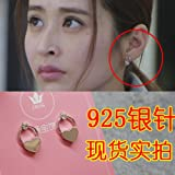 TKHNE Zhao Zaihui best arrangement Eiji earrings earrings earrings Dongdaemun 1990 needles flower