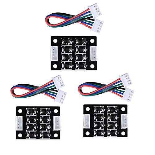 ARQQ TL Smoother Addon Module for Pattern Elimination Motor Clipping Filter 3D Printer Stepper Motor Drivers (Pack of 3pcs) by ARQQ