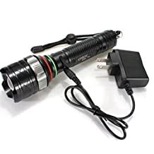 Rechargeable 2000lm Cree Xm-l T6 LED Ultrafire 18650 Tactical Flashlight Torch Lamps +Charger