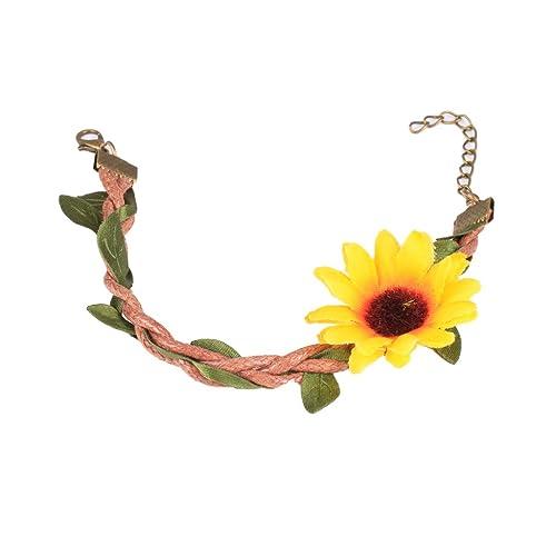 MagiDeal Sonnenblumen Fußkettchen, Fußkette, Knöchel Armband ...
