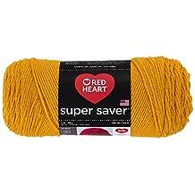 Coats: Yarn Red Heart E300.0321 Super Saver Economy Yarn, Gold