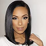 Best African American Wigs - WTB Hair Long Black Bob Wigs For Black Review