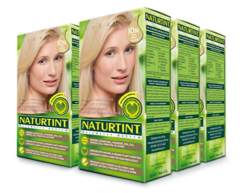 Naturtint, Permanent Hair Color - 10N Light Dawn Blonde, 5.28 fl oz (6-pack) by Naturtint