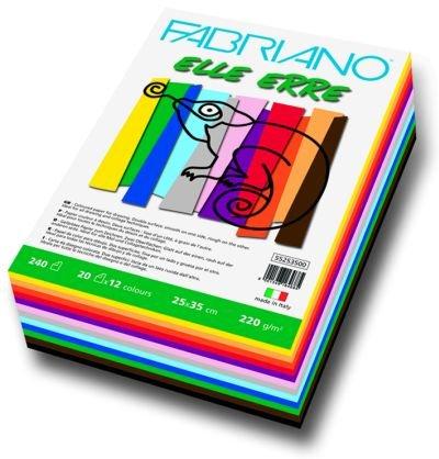 FABRIANO CARTONCINO ELLE ERRE 25x35 240fg