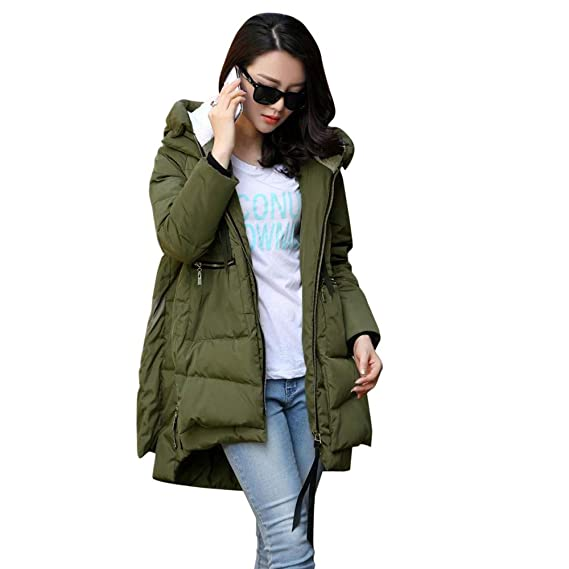 Amazon.com: Womens Thickened Down Jacket,Sunyastor Cotton-Padded Coat Oversize Warm Down Parka Puffer Outerwear: Clothing