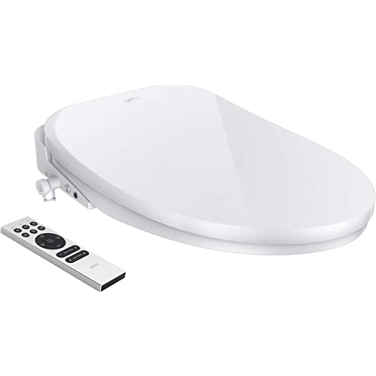 Surprising Smart Toilet Seat Uffu Advanced Bidet Toilet Seat Wireless Remote Control Advanced H C Massage Precise Seat Warming Self Cleaning With Air Dryer Unemploymentrelief Wooden Chair Designs For Living Room Unemploymentrelieforg