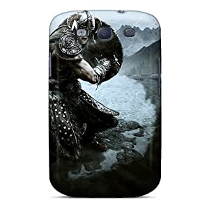 Awesome Skyrim Flip Cases With Fashion Design For Galaxy S3