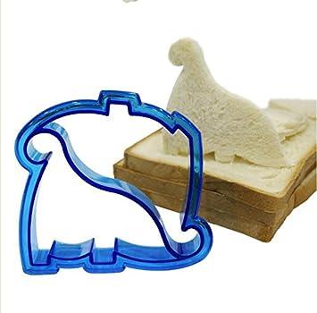 Bricolaje Cortar pan de molde Sandwich gráficos Ortografía tostadas cortar cachorro delfín dinosaurio car almuerzo molde,A,dinosaurio: Amazon.es: Bricolaje ...