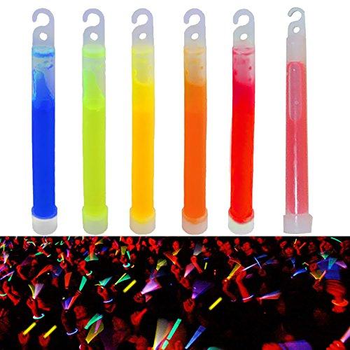 Ezyoutdoor Pack of 10 pieces Light Stick Glow Sticks SpotOn ChemLight 8 Hours Emergency Safety Chem Light Sticks Snaplights Random Color by ezyoutdoor (Image #4)