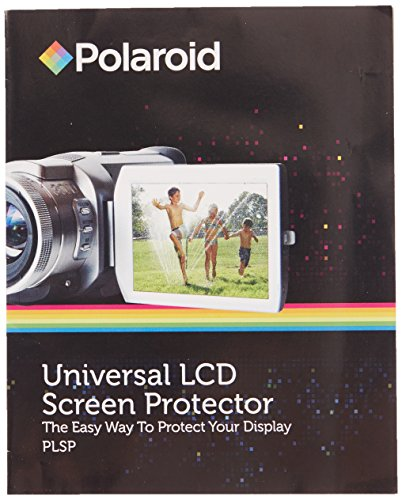 Screen Lcd Universal Protector (Polaroid Universal LCD Screen Protector - The Easy Way To Protect Your Display)