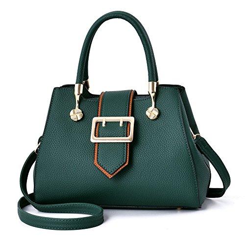 Gwqgz 2018 New Style Fashion Simple Elegant Retro Green Shoulder Bag Green