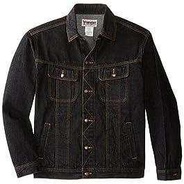 Wrangler Men's Big & Tall Rugged Wear Unlined Denim Jacket