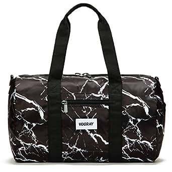 """Vooray Roadie 16"""" Small Gym Duffel Bag (Black Marble)"""