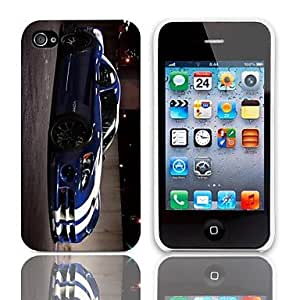 ZL Cool Coupe Pattern Hard Case with 3-Pack Screen Protectors for iPhone 4/4S