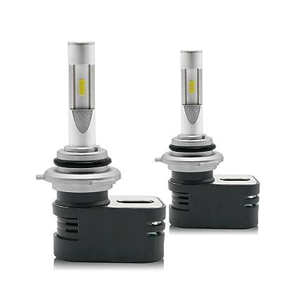 ZHITEYOU LED faro 30W 4200LM 6000K Hid luces del coche de xenón H1 ...