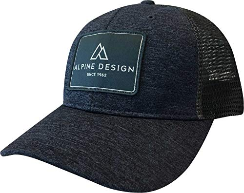 Alpine Design Men's Trucker Hat (Heather Navy/OneSize)