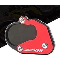 Motocicleta Soporte pie Caballete lateral enlarger placa CNC