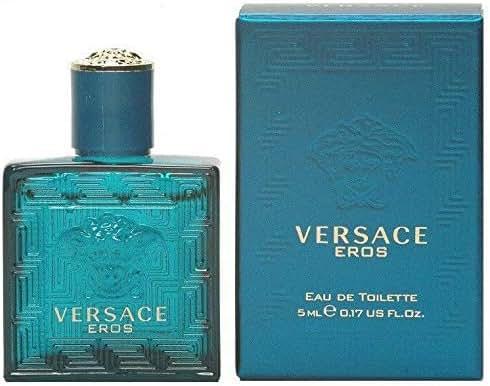 Miniature EDT New in Box Perfume for Men 5 ML (0.17 US FL.OZ) Versace EROS
