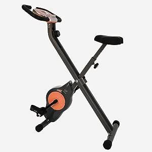 Davina McCall - Bicicleta estática de Ejercicio, Unisex, Gris y ...