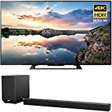 Sony 70-Inch 4K Ultra HD Smart LED TV 2017 Model (KD70X690E) with Sony 7.1.2ch 800W Dolby Atmos Sound Bar