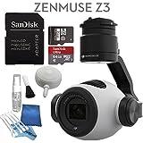 DJI Zenmuse Z3 Starters Kit: Includes SanDisk 64GB Ultra MicroSD Card & eDigitalUSA Cleaning Kit