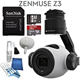 DJI Zenmuse Z3 Starters Kit: Includes SanDisk 64GB Ultra MicroSD Card & eDigitalUSA Cleaning Kit