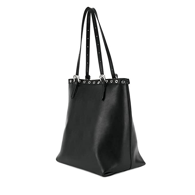 844573e25c15 Women s Accessories Dsquared2 Black Nappa Leather Tote Bag Spring Summer  2018  Amazon.co.uk  Clothing