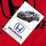 Honda Auto Logo Red T Shirt & Stickers
