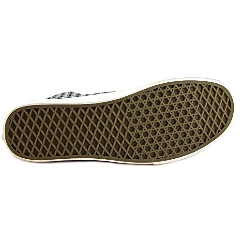 Vans U Sk8-Hi Zip CA (Italian Weave/Nubuck) Mens Shoes VN000XH9HUG (Italian Weave) Black azLys2P