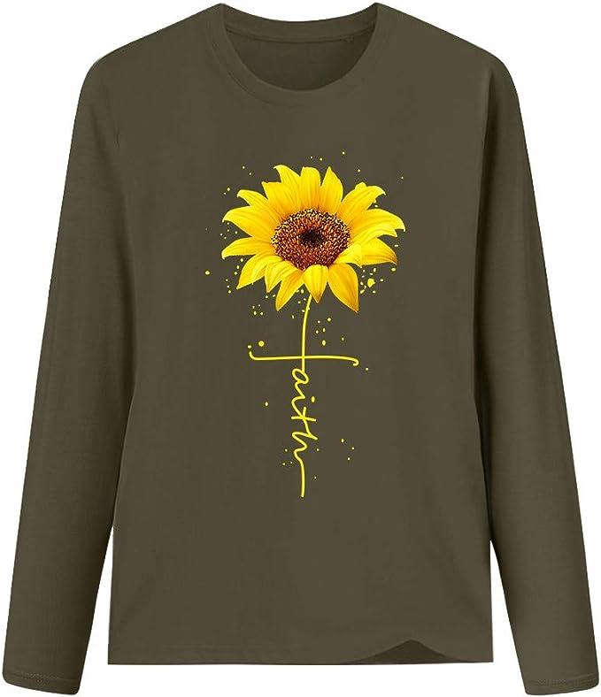 nikunLONG Short Sleeve T-Shirt for Women Fashion O-Neck Tee Santa Print Tops Blouse Sweatshirt