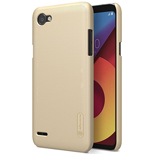 best sneakers 1baf8 db899 LG Q6 Case,LG Q6 Back Cover,OPDENK - Nillkin Frosted Matte Shield Hard  Cover Skin Shell Case Back Cover + LCD Screen Protector For LG Q6  (Champagne ...