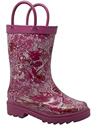 Camo Rubber Boot Girls' Toddler-Youth Boot