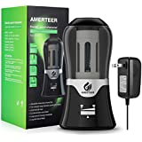 AMERTEER Electric Pencil Sharpener - AC Powered with Auto-Stop Feature,Durable and Portable for School Classroom & Office,Safe for Students and Kids
