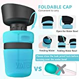 lesotc Pet Water Bottle for Dogs, Dog Water